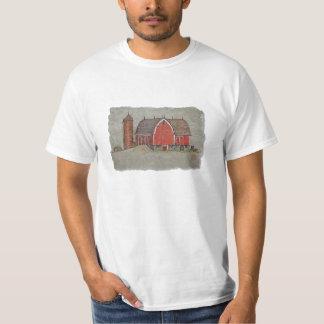 Red Barn & Silo T-Shirt