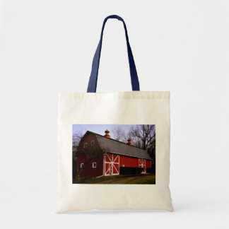 Red Barn Tote Bag