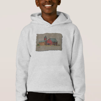 Red Barn & Two Buggies Hoodie