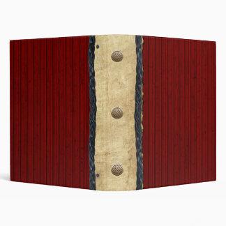 Red Barn Western Notebook Binder
