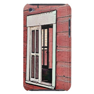 Red Barn Window Barely There iPod Cover
