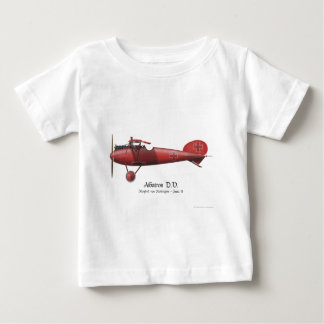 Red Baron aka Manfred von Richthofen and his plane Baby T-Shirt