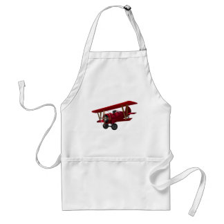 red baron adult apron