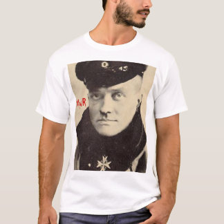 Red Baron Portrait Tee, w RedBaron Gear logo back T-Shirt