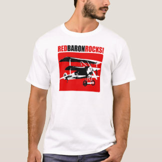Red Baron Rocks! T-Shirt