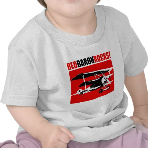 Red Baron Rocks Tee Shirt