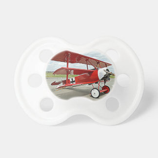 Red Baron's triplane Pacifier