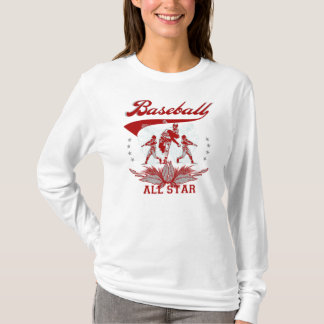 Red Baseball All Star T-shirts and Gifts