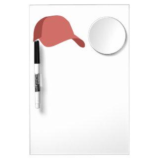 Red baseball cap Dry-Erase whiteboard