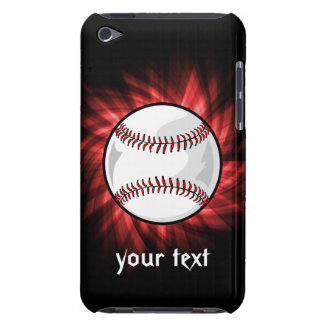 Red Baseball Case-Mate iPod Touch Case