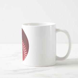 Red Baseball Mugs