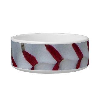Red Baseball Stitches Bowl
