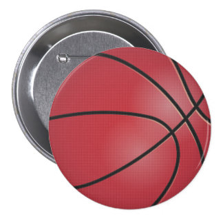 Red Basketball Button