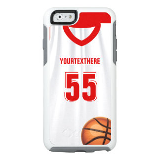 Red BasketBall Dress Name Number OtterBox iPhone 6/6s Case