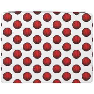Red Basketball Pattern iPad Cover