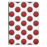 Red Basketball Pattern Kindle Touch Cover