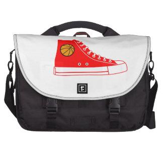 Red Basketball Sneaker Bag For Laptop