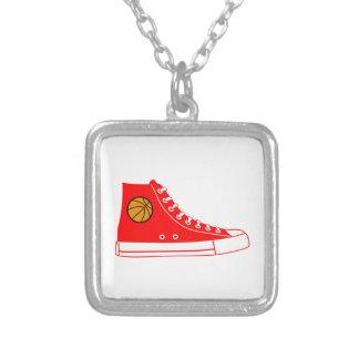 Red Basketball Sneaker Custom Jewelry