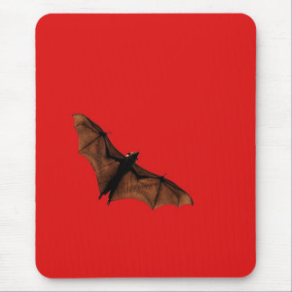 Red Bat Mouse Pad