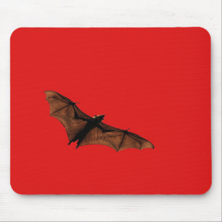 Red Bat Mouse Pads