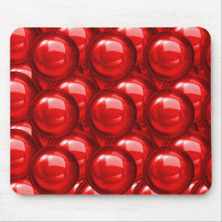 Red Bauble Mousepad