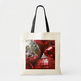 Red Baubles tote bag
