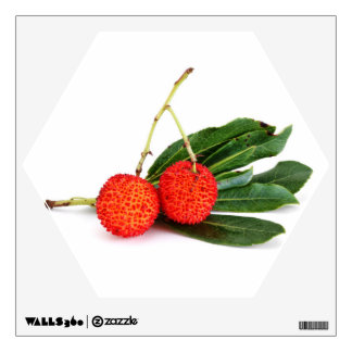 red bayberry wall decals