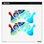 Red Bayou Decal For PS3 Controller