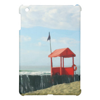 Red Beach Shack Cover For The iPad Mini