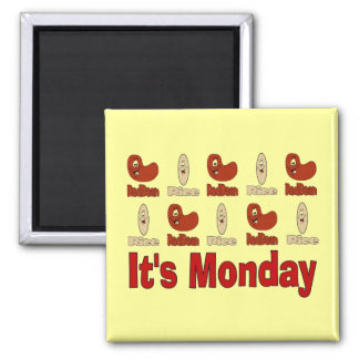 Red Beans on Monday Magnet