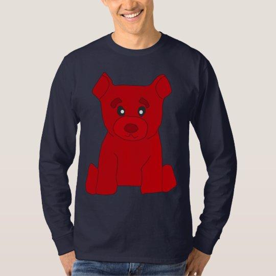 Red Bear Long Sleeve T-Shirt