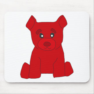 Red Bear Mousepad
