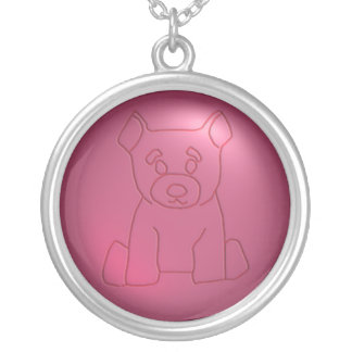 Red Bear Necklace