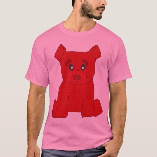 Red Bear Pink T-Shirt