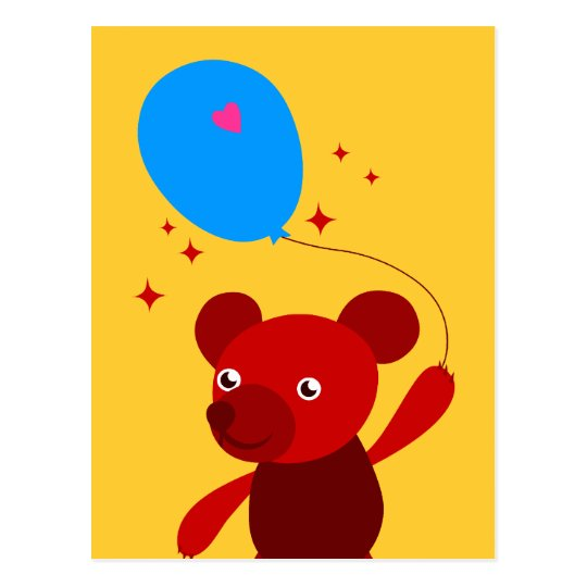 Red Bear Postcard