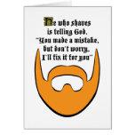 red beard card