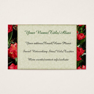 Red Beauties Business Card