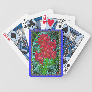 red beauty bicycle playing cards