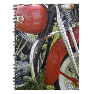 Red Beauty Notebook