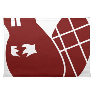 Red Beaver Icon Placemat