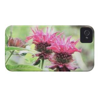 Red Bee Balm Blooms Case-Mate iPhone 4 Case