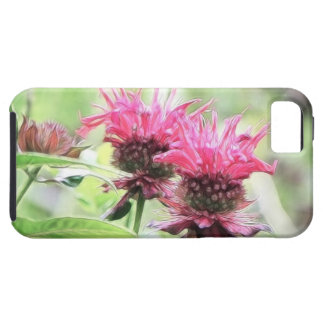 Red Bee Balm Blooms iPhone SE/5/5s Case