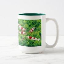 Red Bee Shrimp Two-Tone Coffee Mug