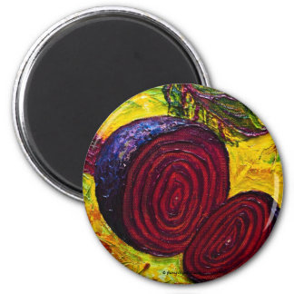 Red Beets Magnet