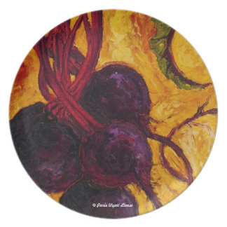 Red Beets Plates