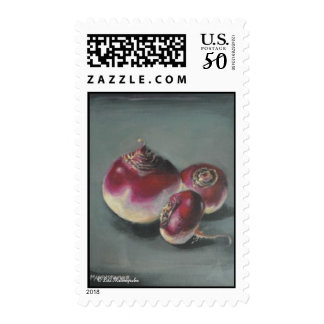 Red Beets Postage Stamp