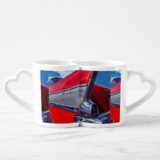 Red Bel Air Coffee Mug Set