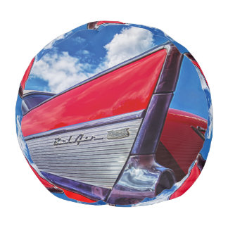 Red Bel Air Pouf