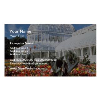 Red Belfast, Palm House, Botanical Gardens, Irelan Business Cards