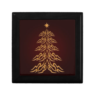 Red Bell Christmas Tree Gift Box